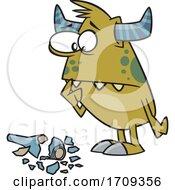 Cartoon Clumsy Monster