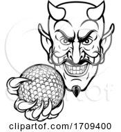 05/02/2020 - Devil Golf Sports Mascot