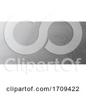 Banner Template With Topography Contour Design