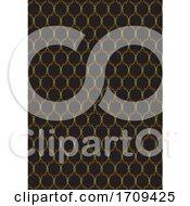 Decorative Gold And Black Pattern Design
