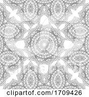 Decorative Mandala Pattern Background