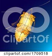 Orange Vesak Lantern