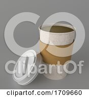 Poster, Art Print Of 3d Takeaway Coffee Cup