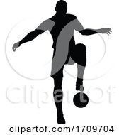 05/05/2020 - Soccer Football Player Silhouette