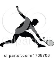 05/05/2020 - Tennis Silhouette Sport Player Man