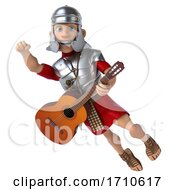 3d Young Male Roman Legionary Soldier, on a White Background by Julos #COLLC1710617-0108