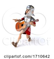 05/29/2020 - 3d Young Male Roman Legionary Soldier On A White Background