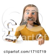 05/29/2020 - 3d Gaul Man On A White Background