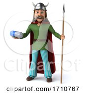 05/29/2020 - 3d Gaul Warrior On A White Background
