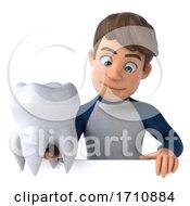 05/26/2020 - 3d White Boy On A White Background