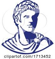 Bust Of Roman Emperor Caesar