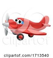 Airplane Cartoon Character