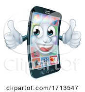 05/10/2020 - Cell Mobile Phone Mascot Cartoon Character