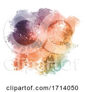 Colourful Watercolour Texture Background
