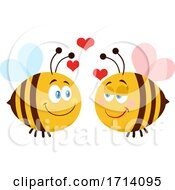 Bee Couple In Love