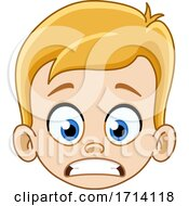 05/20/2020 - Blond Haired Boy With A Nervous Expression