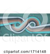 Poster, Art Print Of Retro Infinity Background