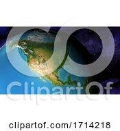 Poster, Art Print Of World Map
