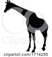 05/20/2020 - Giraffe Animal Silhouette