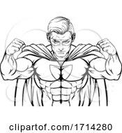 Superhero Cartoon Character