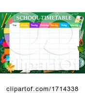 School Timetable by Vector Tradition SM #COLLC1714338-0169