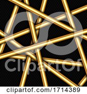 Abstract Background With Random Gold Bars Design
