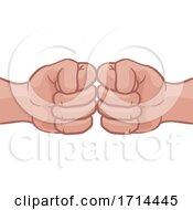 05/27/2020 - Fist Bump Hands Punch Cartoon