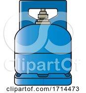 Blue Gas Cylinder
