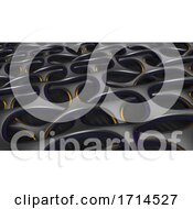3D Geometric Abstract Background by KJ Pargeter #COLLC1714527-0055