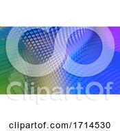 3D Geometric Abstract Background by KJ Pargeter #COLLC1714530-0055