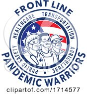 American Front Line Pandemic Warrior