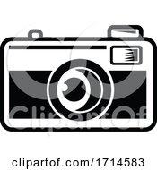 Vintage 35mm Film Camera Black And White