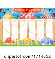 Circus School Timetable