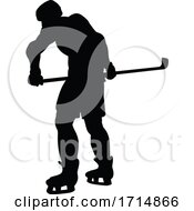 05/31/2020 - Ice Hockey Player Silhouette