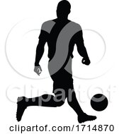 05/31/2020 - Soccer Football Player Silhouette
