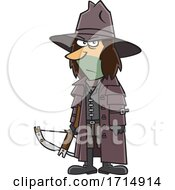 Cartoon Vampire Hunter