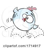 Poster, Art Print Of Cartoon Bouncing Rubber Chicken