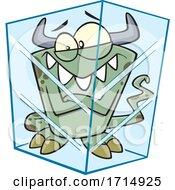 Cartoon Frozen Monster by toonaday
