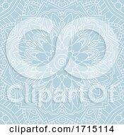 Decorative Mandala Background Design