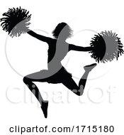 06/03/2020 - Cheerleader Silhouette