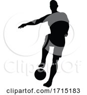 06/03/2020 - Soccer Football Player Silhouette
