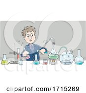 Man in a Science Lab by Alex Bannykh #COLLC1715269-0056