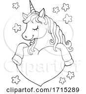 Poster, Art Print Of Unicorn