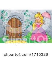 06/03/2020 - Princess Holding An Umbrella