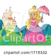 Princess Holding an Umbrella by visekart #COLLC1715332-0161