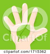 Hand Kid Leaf Illustration