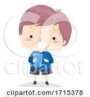 Poster, Art Print Of Kid Boy Adjective Full Illustration