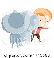 Kid Boy Adjective Last Illustration