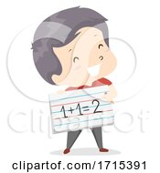 Kid Boy Adjective Sure Illustration