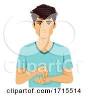 Teen Boy Sign Language Doctor